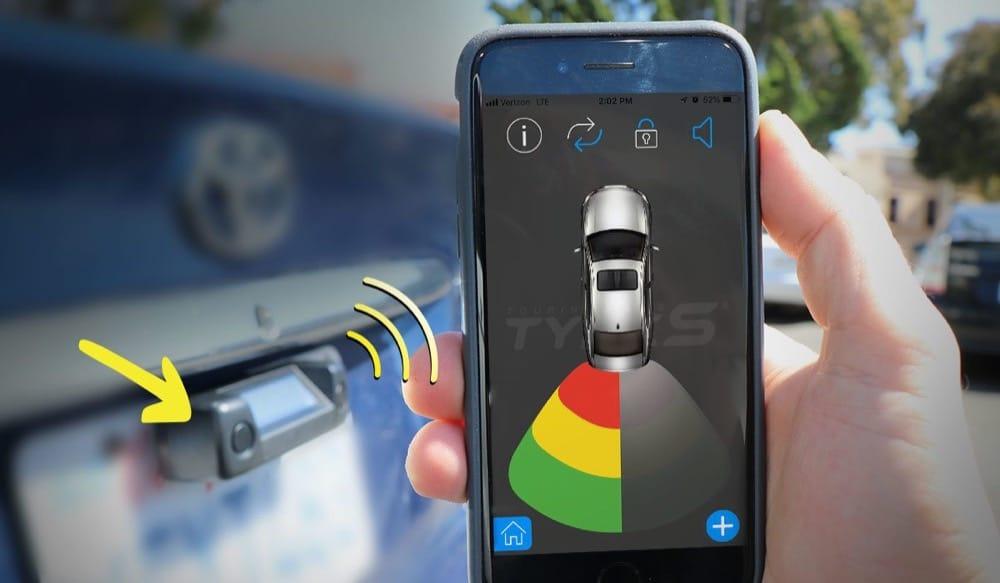 Wireless parking sensor makes a great gift for Father's Day