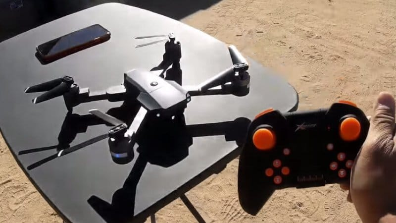 Blade 720 Drone outside with controller