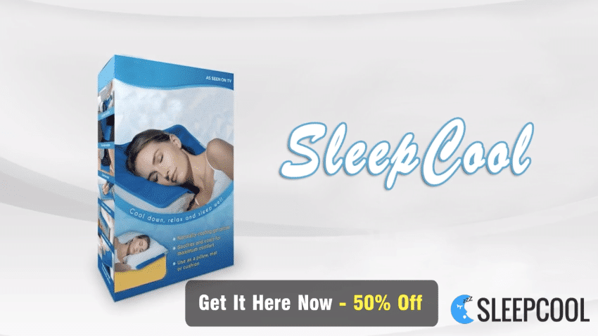 Buy the SleepCool Deluxe Gel Pillow for 50% off.