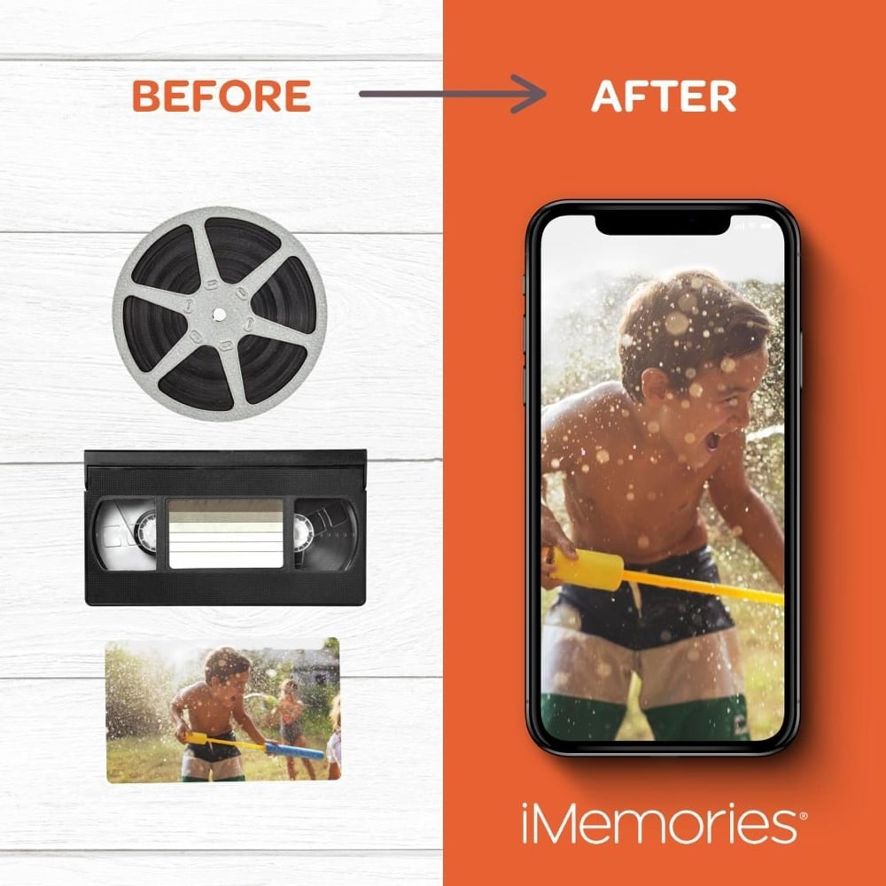 This gift gives father's easy access to all their photos and videos