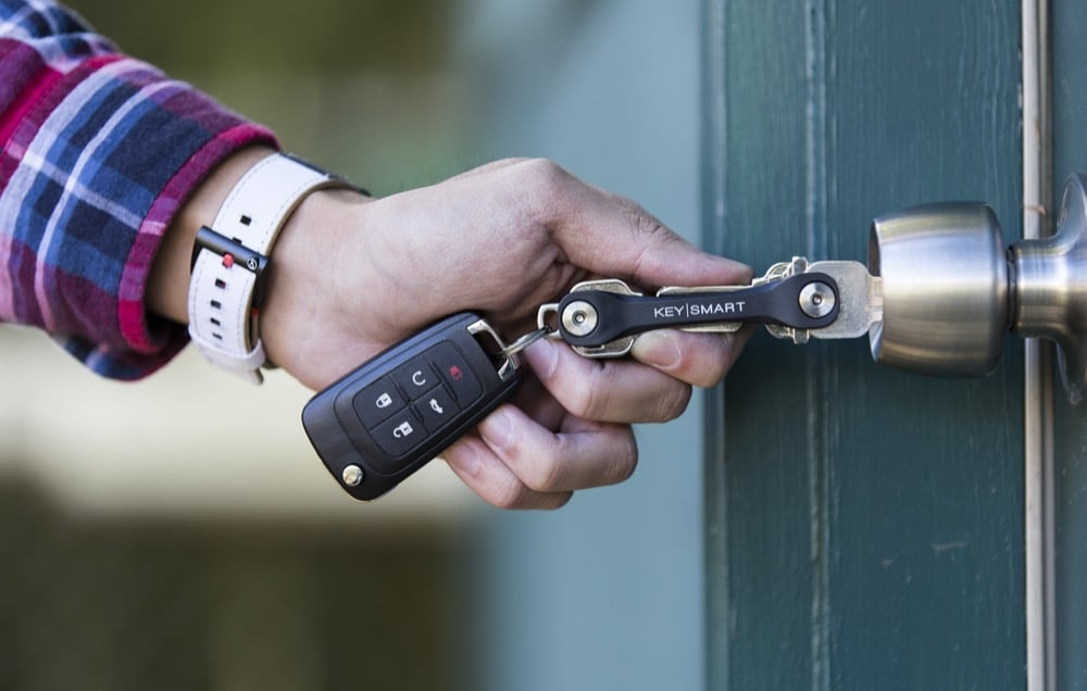 This key organizer makes a great gift for Dad
