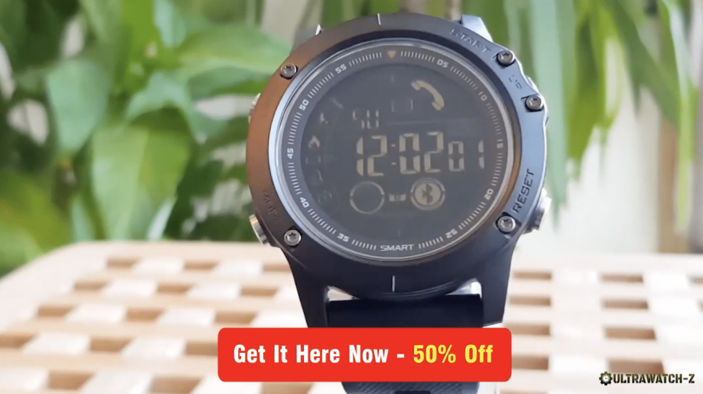 Buy the Ultrawatch-Z for 50% off